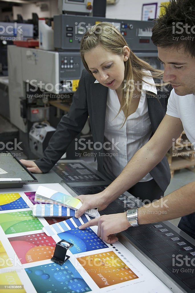 Matching the Colour... stock photo