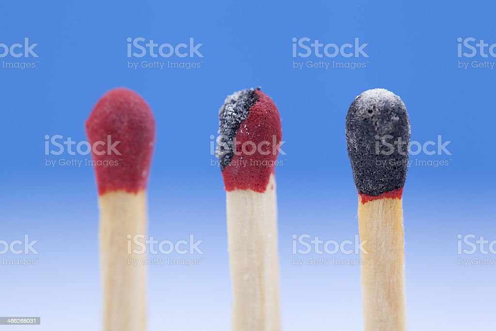 Matchstick Variation royalty-free stock photo
