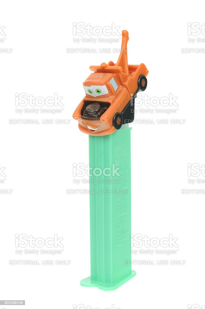 Mater Pez Dispenser stock photo