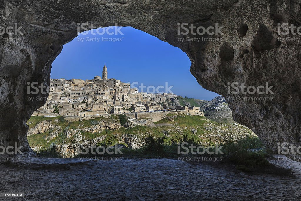 Matera, Basilicata. Italy stock photo