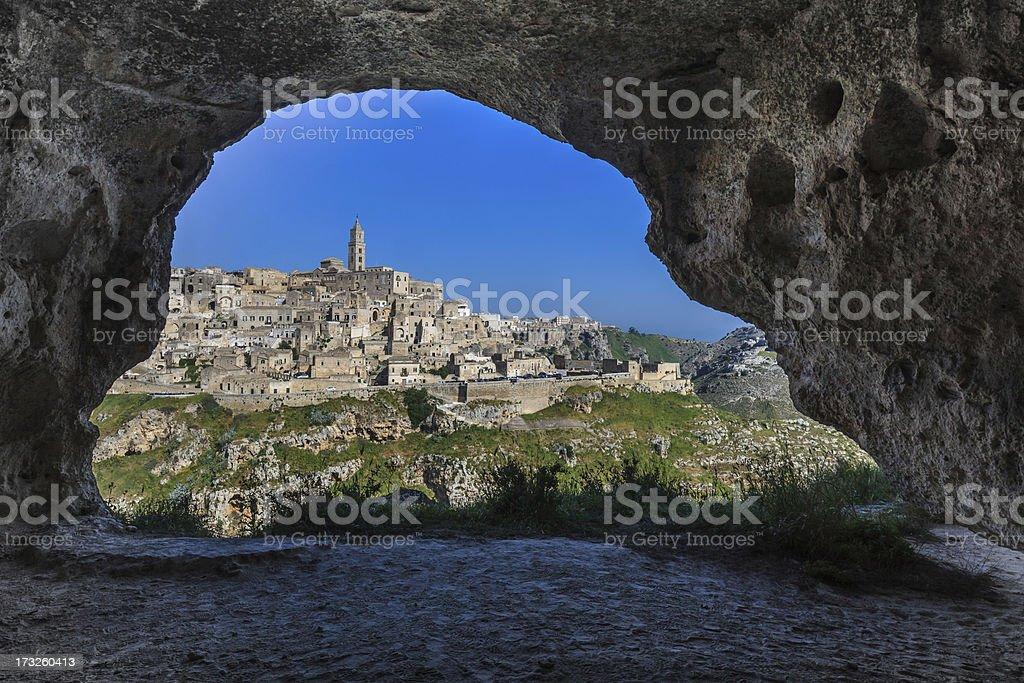 Matera, Basilicata. Italy stock photo