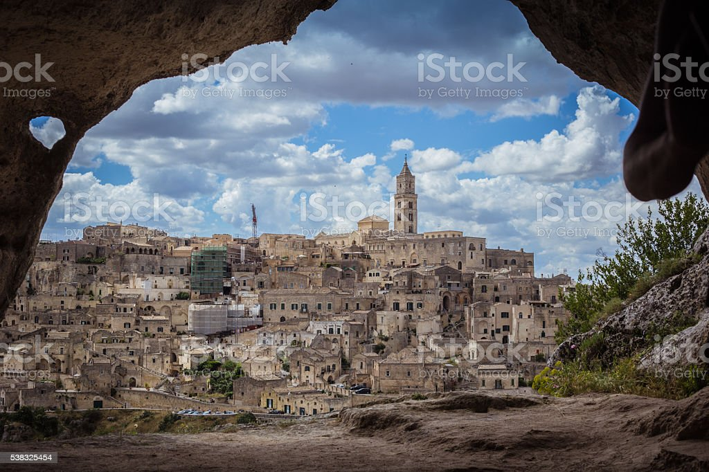 Matera, Basilicata, Italy stock photo