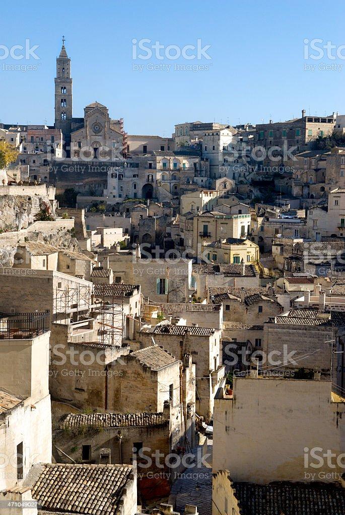 Matera Italy Ancient Town royalty-free stock photo