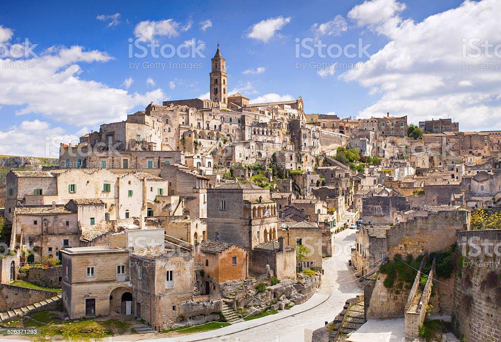 Matera, Italy stock photo