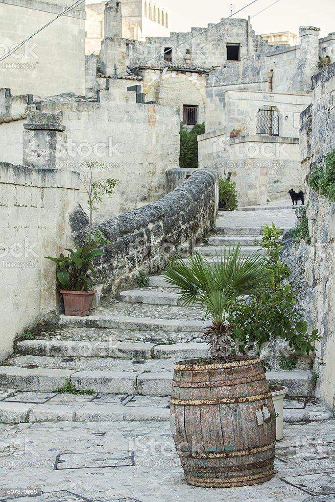 Matera, Sassi, Basilicata stock photo