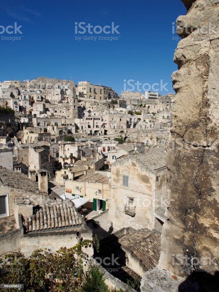 Matera Sasso Barisano stock photo