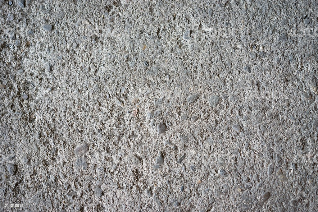 material on a concrete floor stock photo
