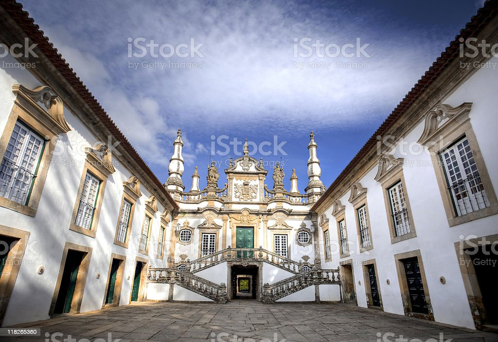 Mateus Palace, Portugalia stock photo