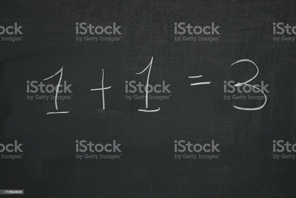 Math - Addition royalty-free stock photo