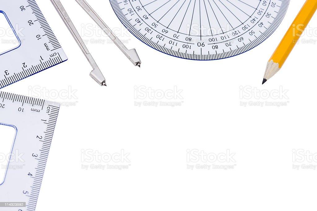 Line Design Art Math : Math border stock photo istock