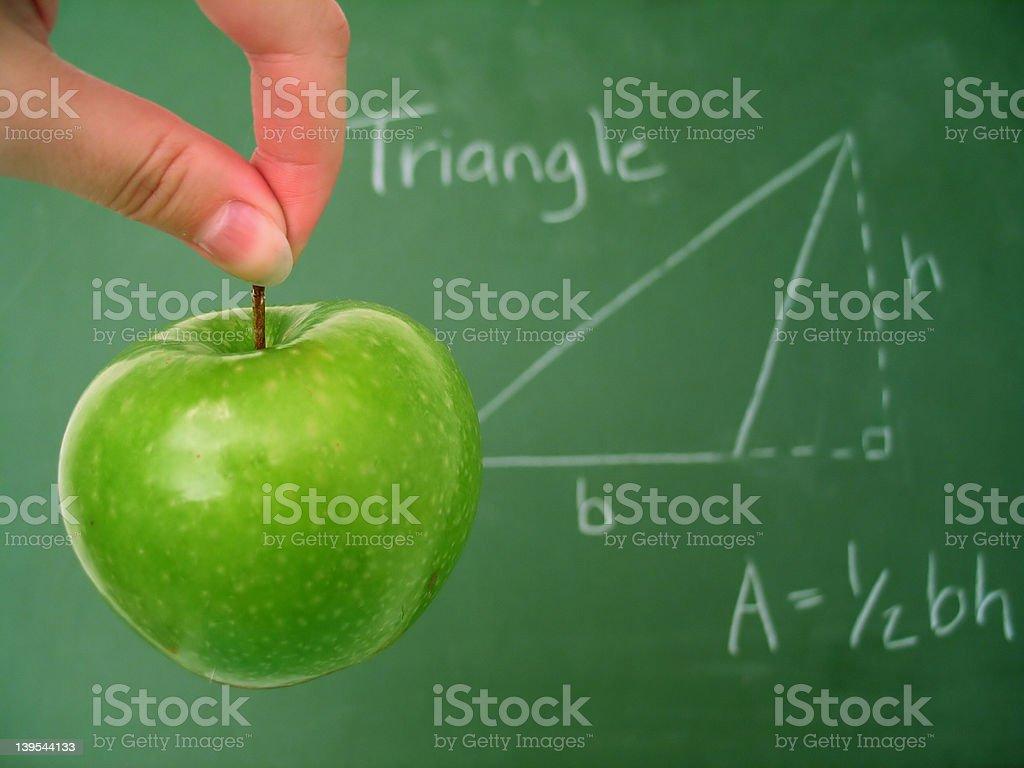 Math Class 3 royalty-free stock photo