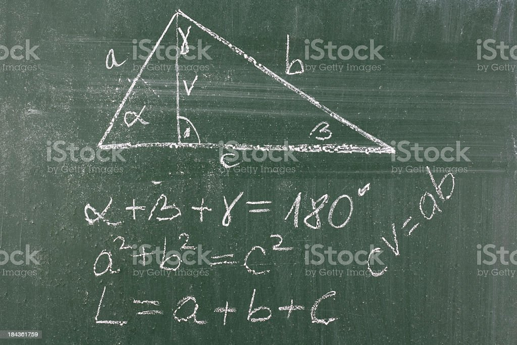Math class stock photo