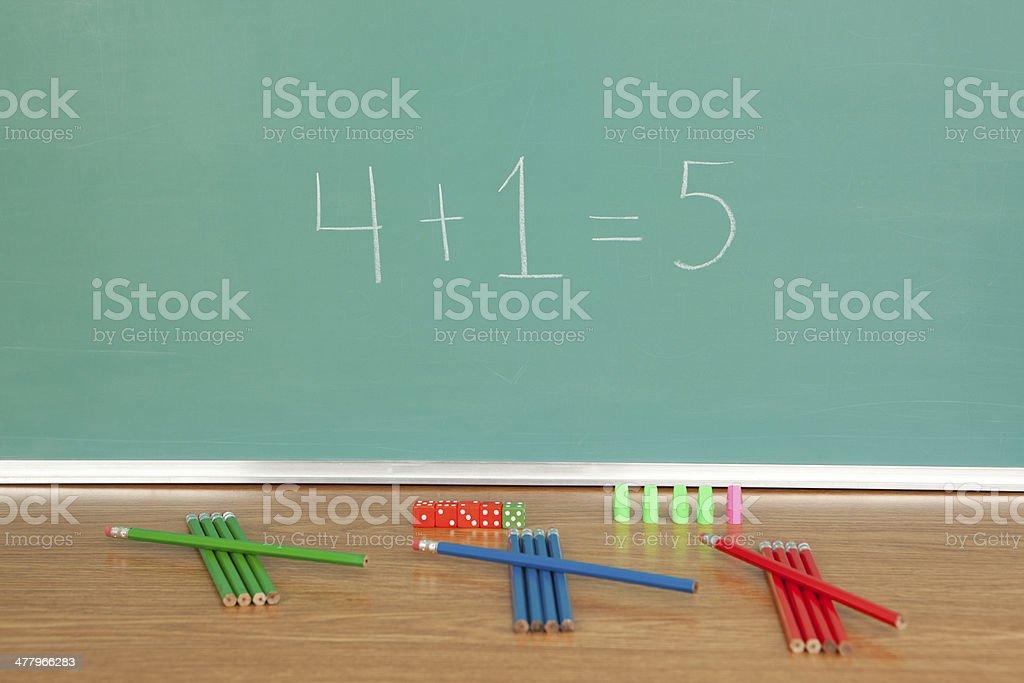 Math Class royalty-free stock photo