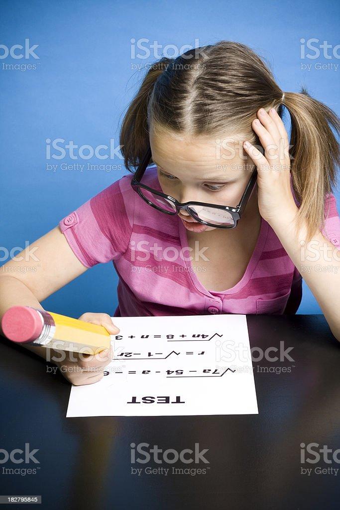 Math Confusion stock photo