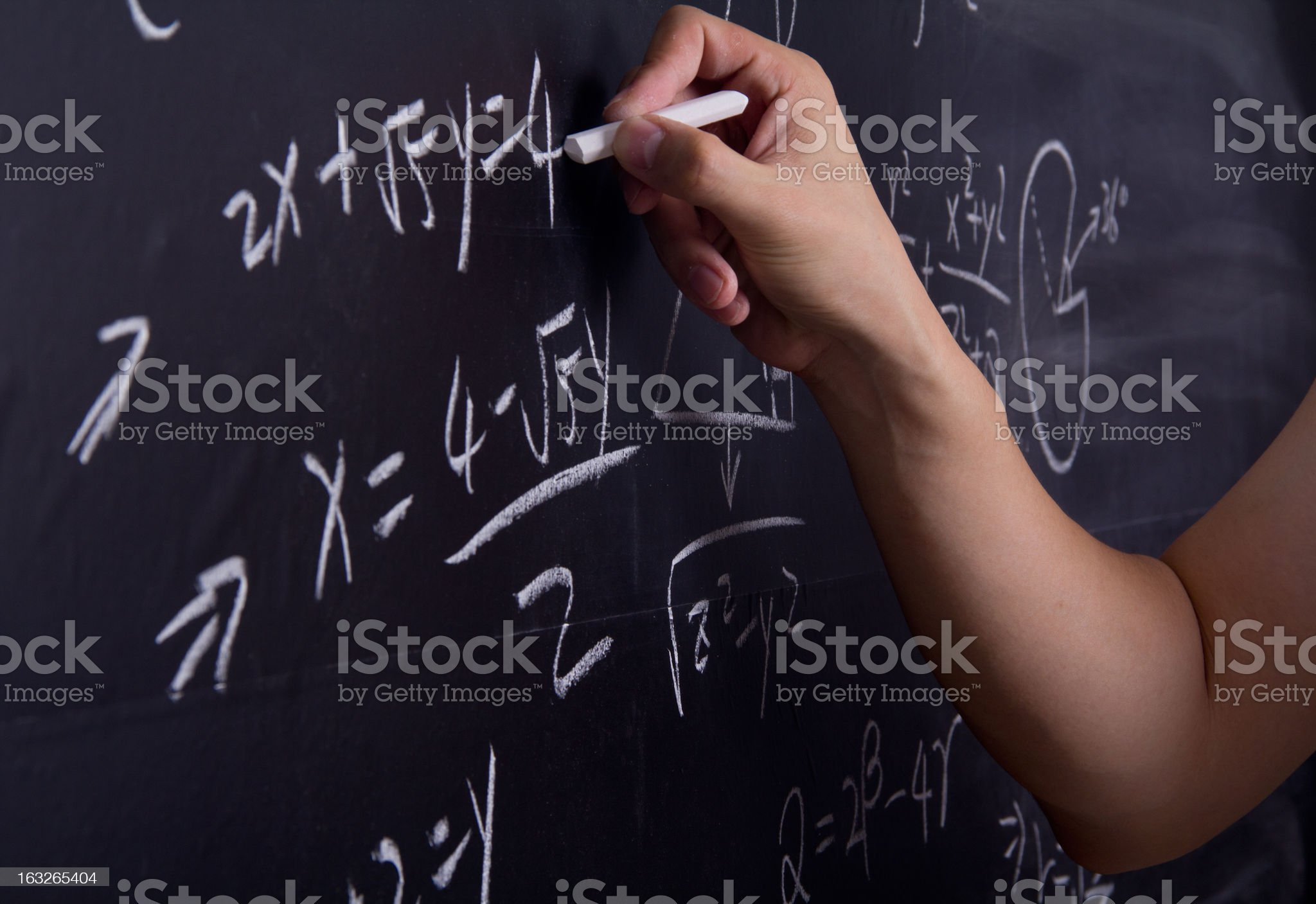 Math Education royalty-free stock photo