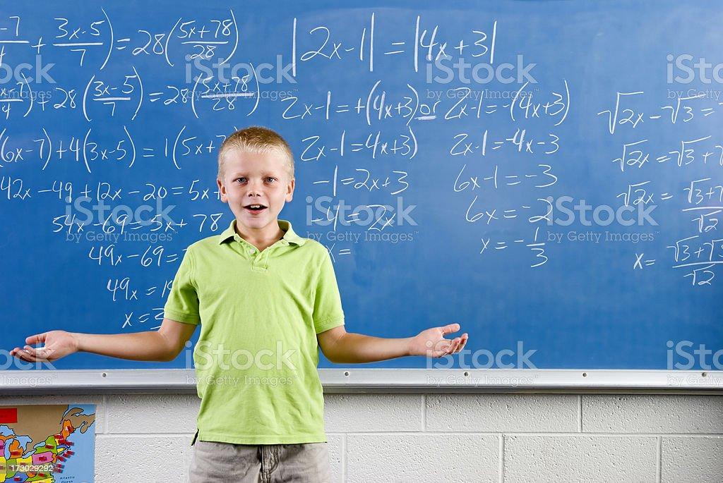 Mathematik Equation Lizenzfreies stock-foto