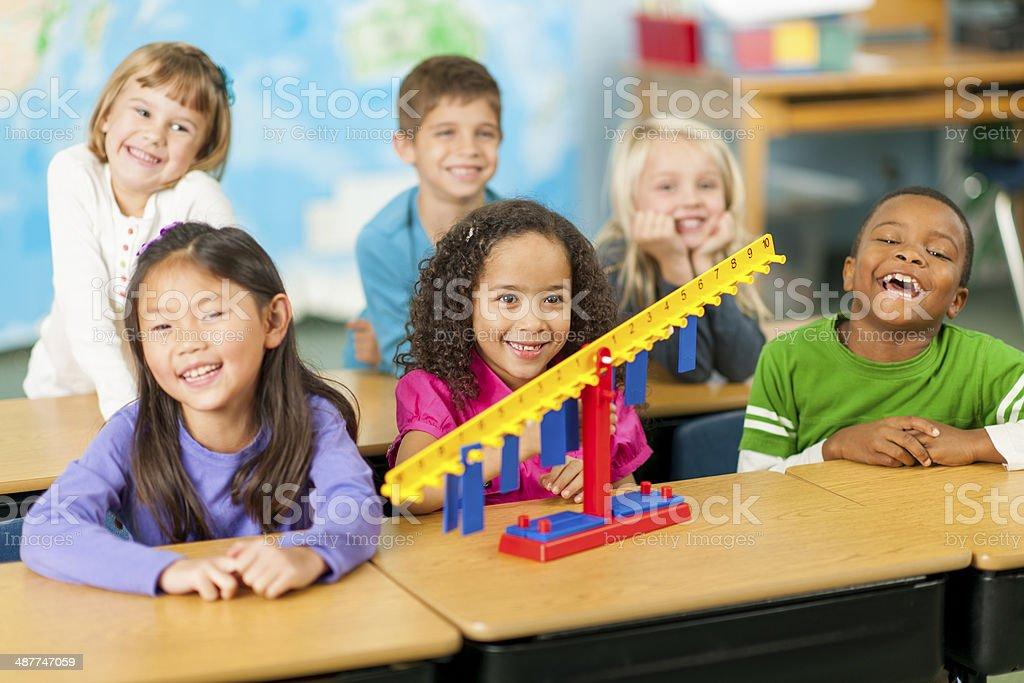 Math Lesson stock photo