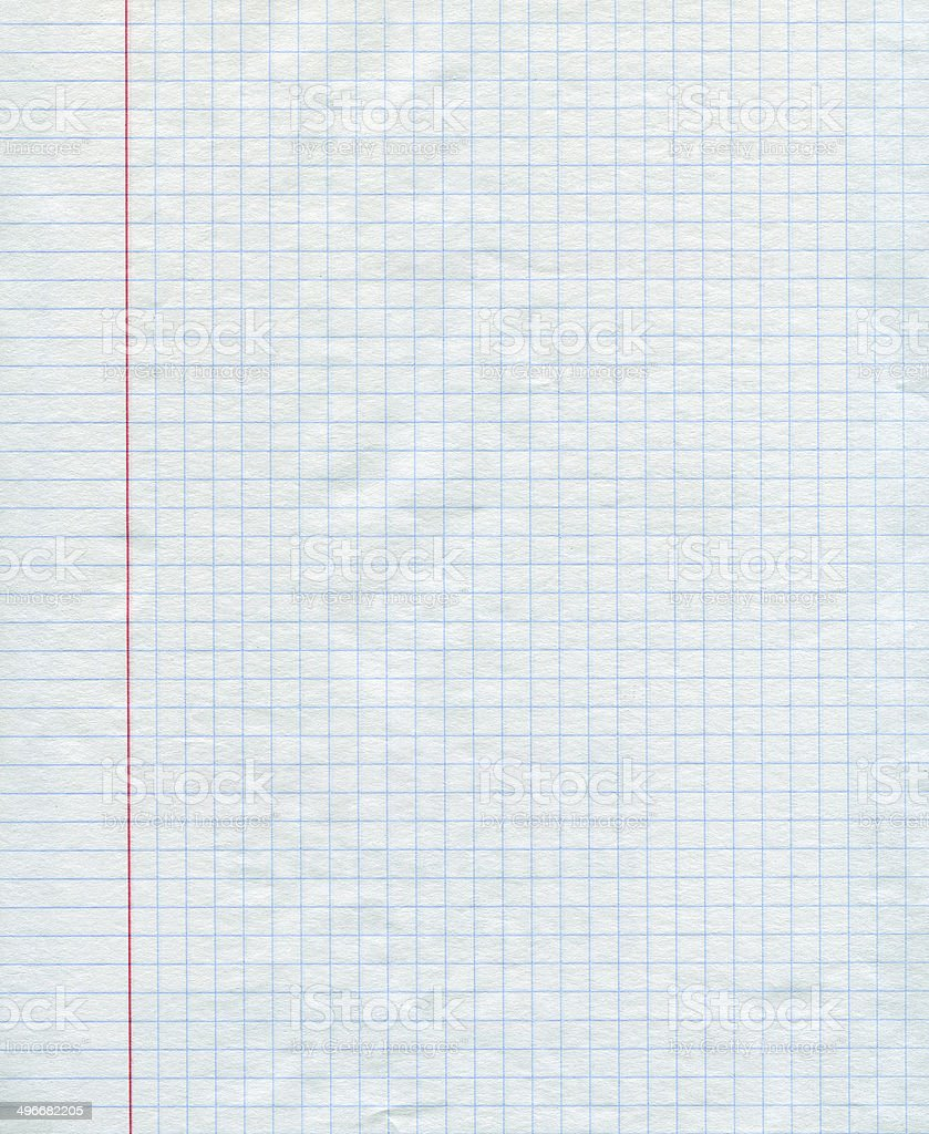 Math paper background stock photo