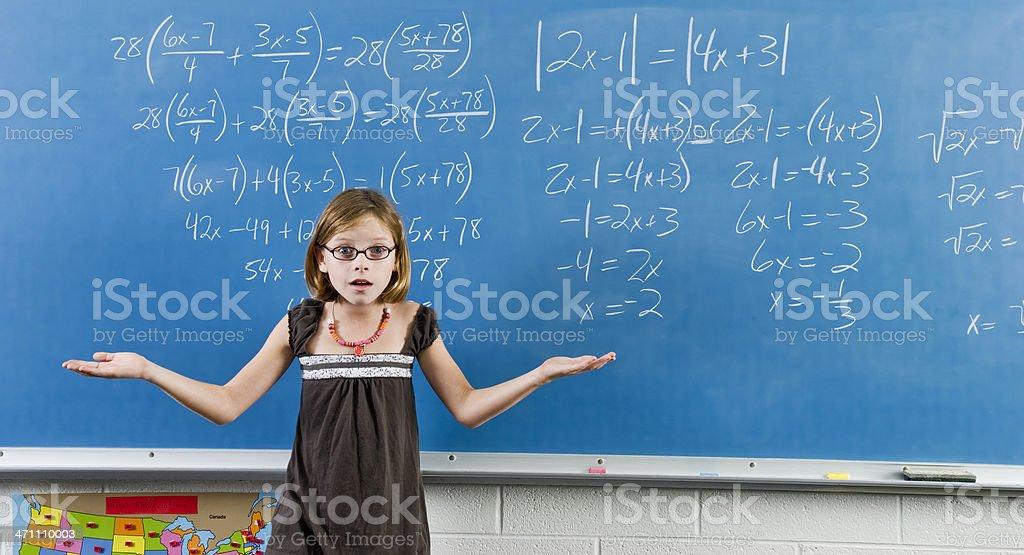 Mathematik Problem Lizenzfreies stock-foto