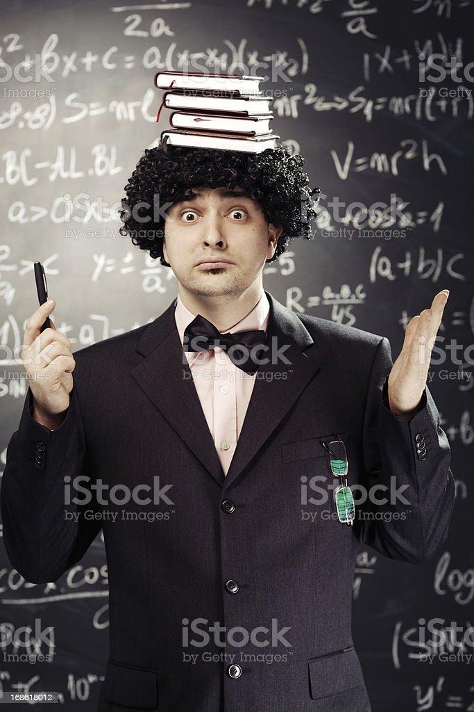 math teacher royalty-free stock photo