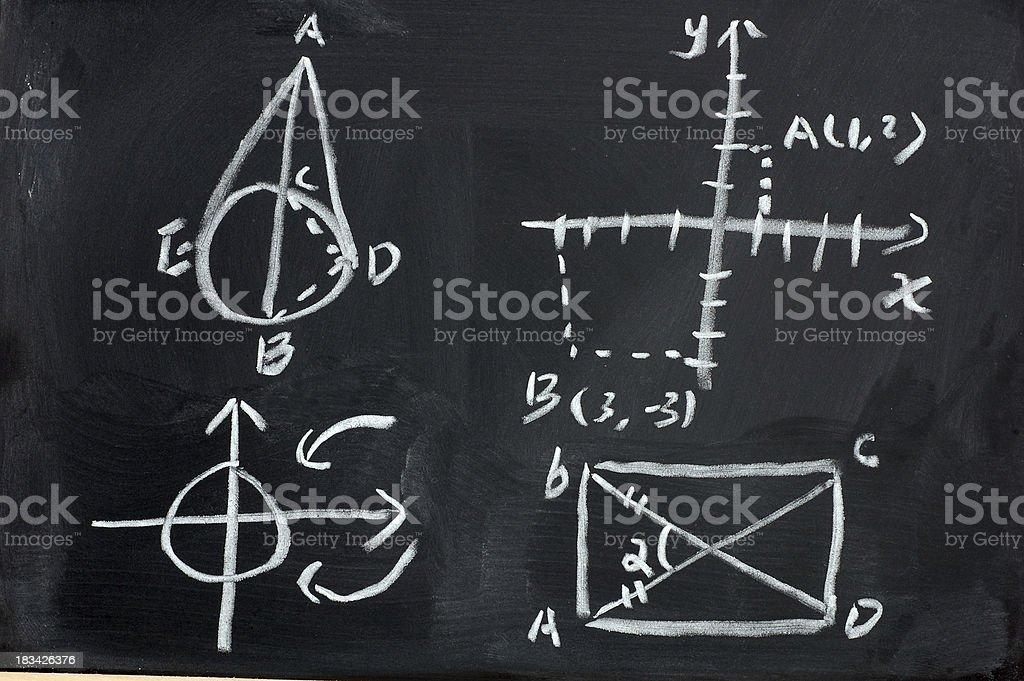 Mathematics Design formula royalty-free stock photo