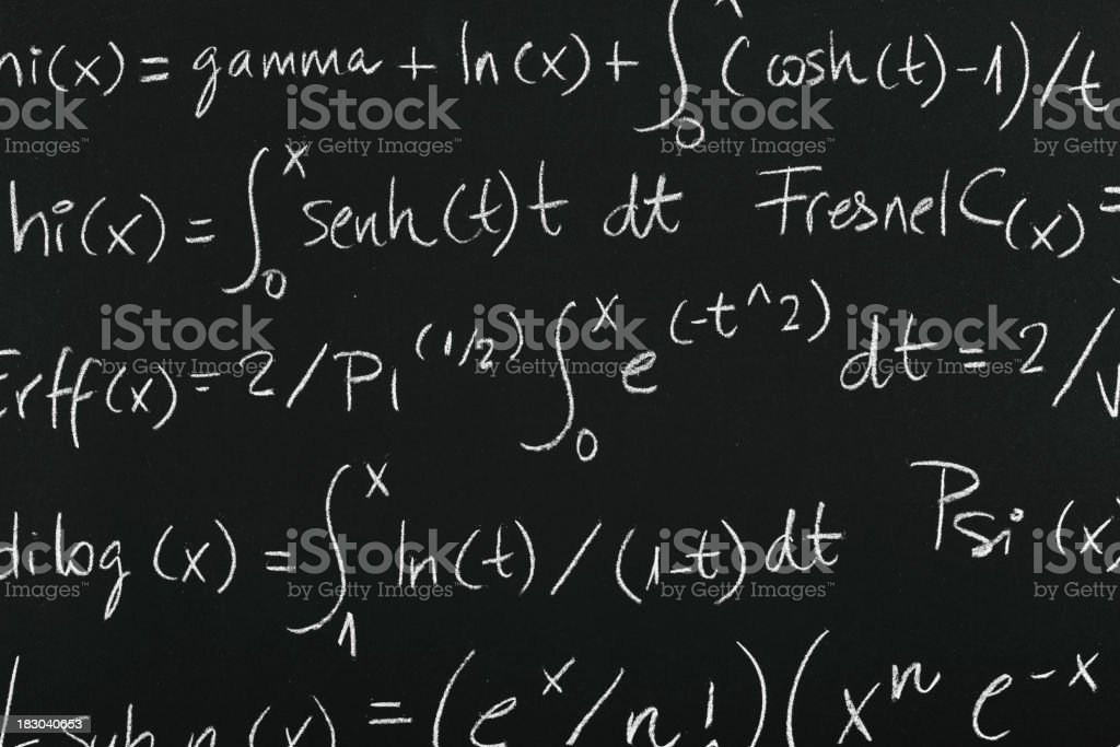 mathematics royalty-free stock photo