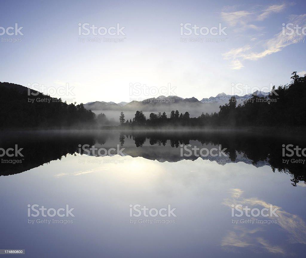 Matheson Mirror Lake royalty-free stock photo