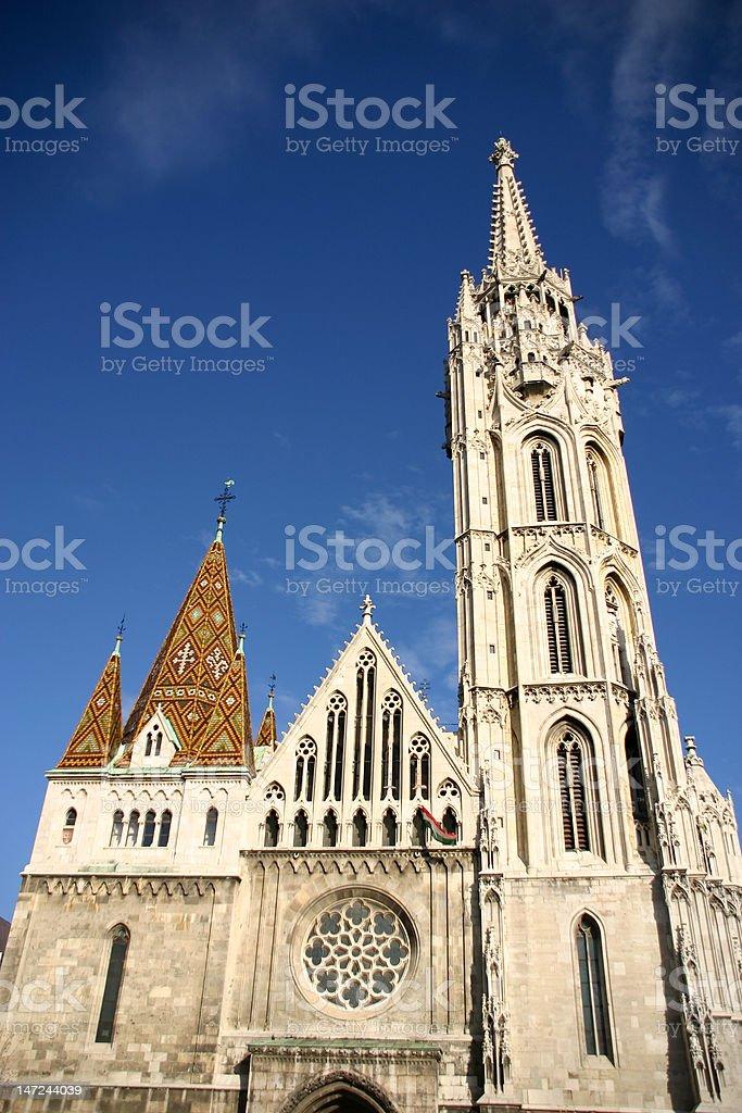 mathias church3 royalty-free stock photo