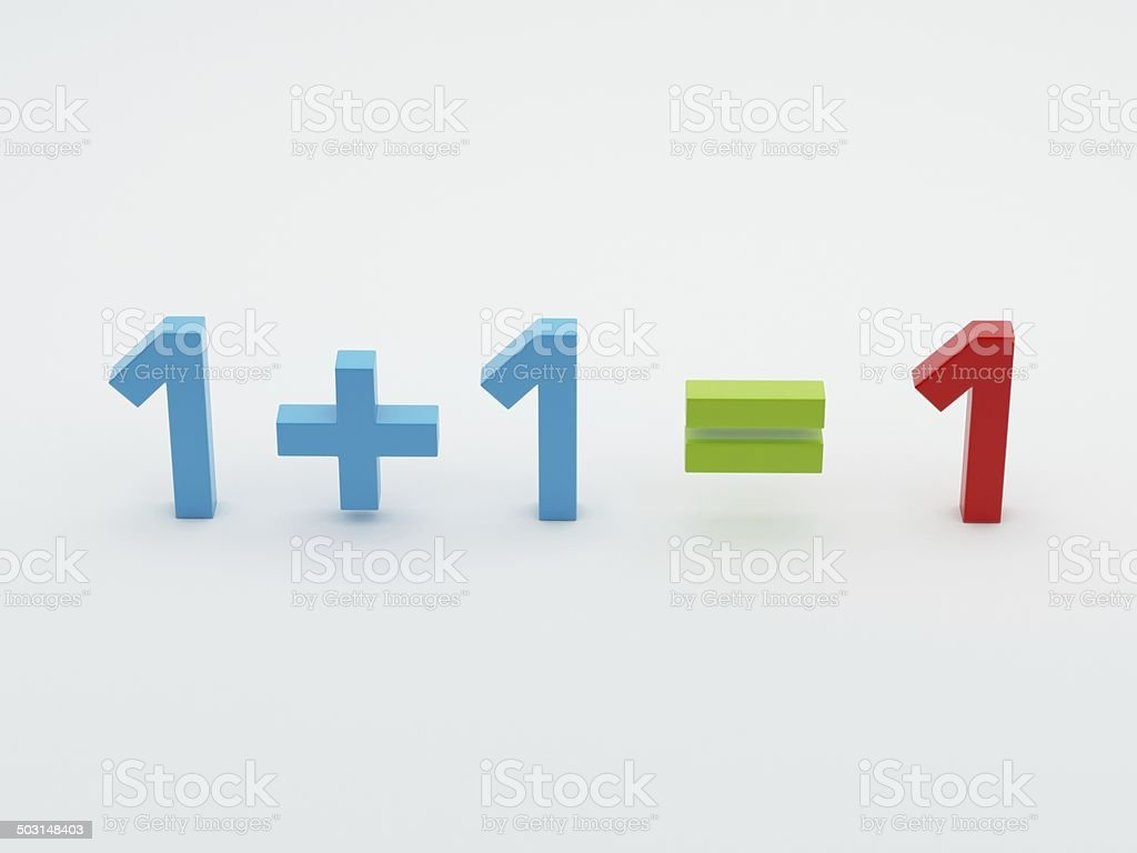 Maths Numbers stock photo