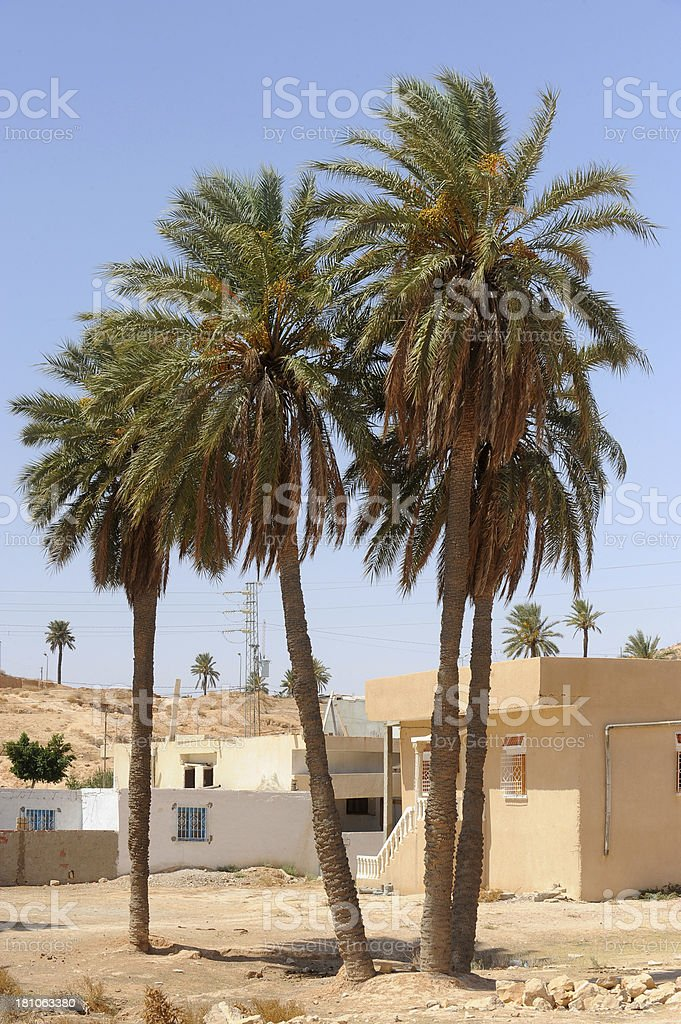 Matmata, Tunisia royalty-free stock photo