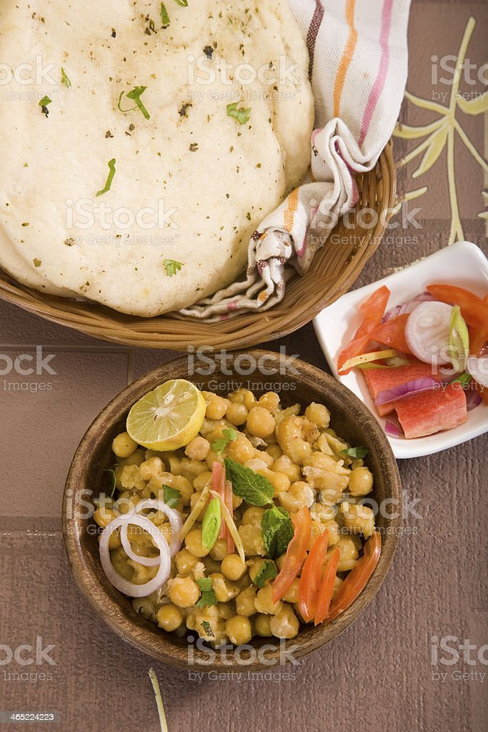 Matra Chaat stock photo