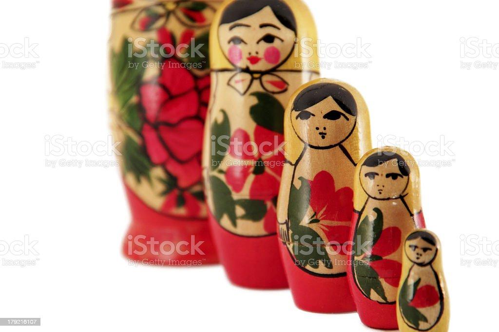 matreshka royalty-free stock photo