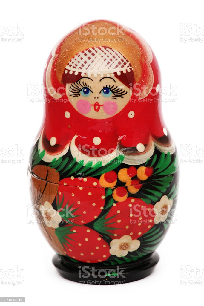 matreshka stock photo