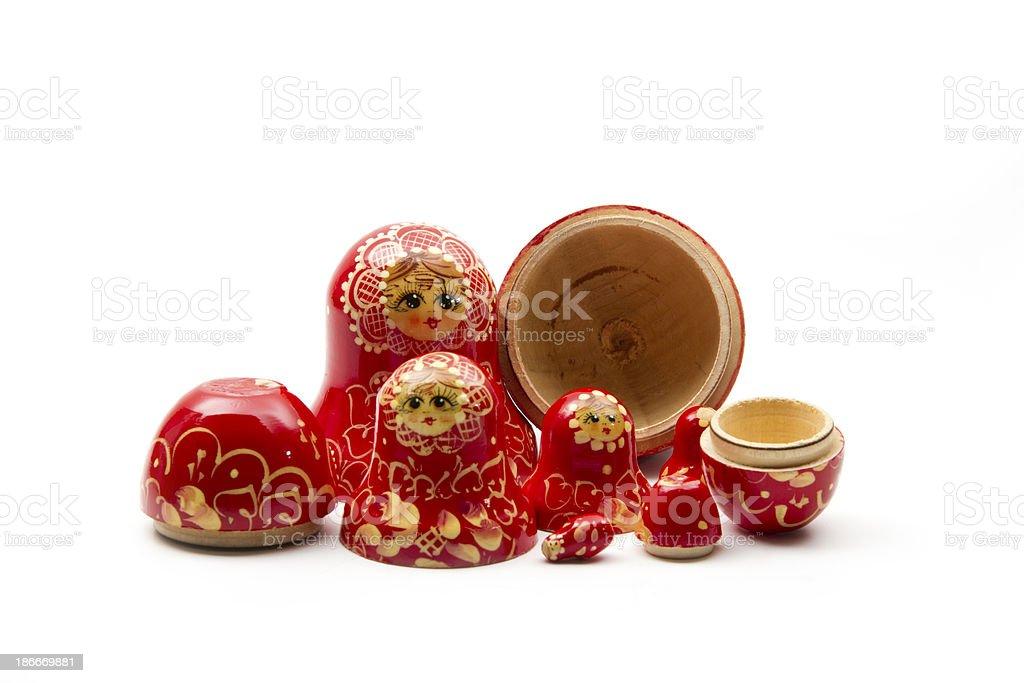 matrioshka doll royalty-free stock photo