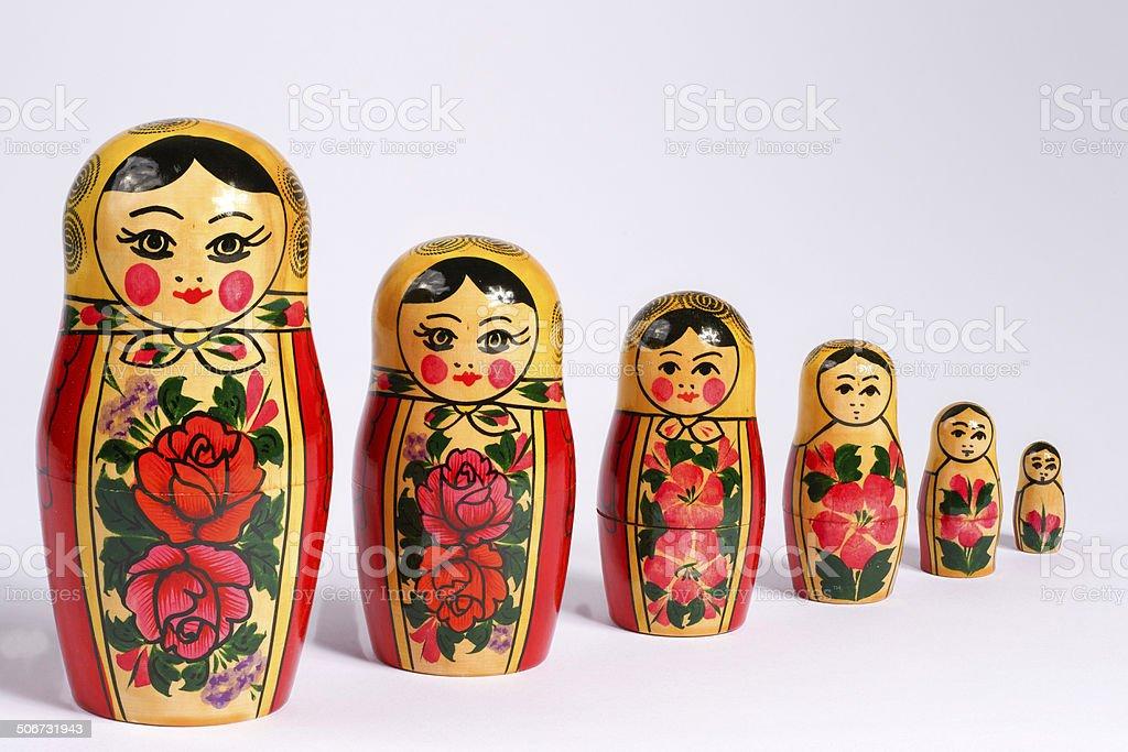 Matrioshka royalty-free stock photo