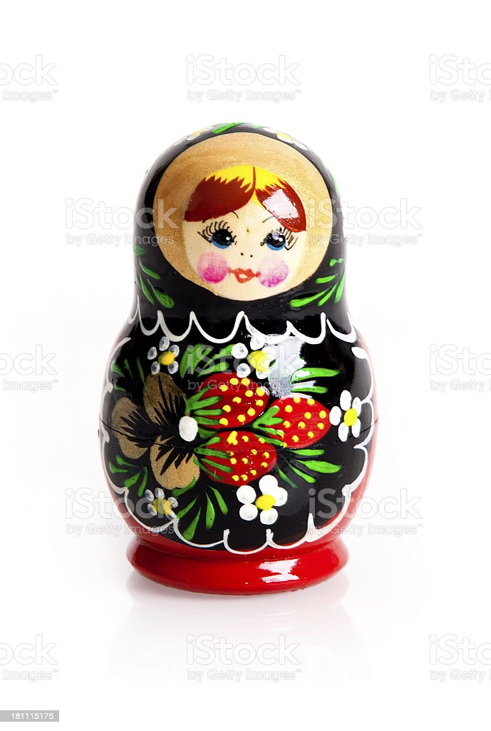 Matrioshka - Russian Nested Dolls royalty-free stock photo