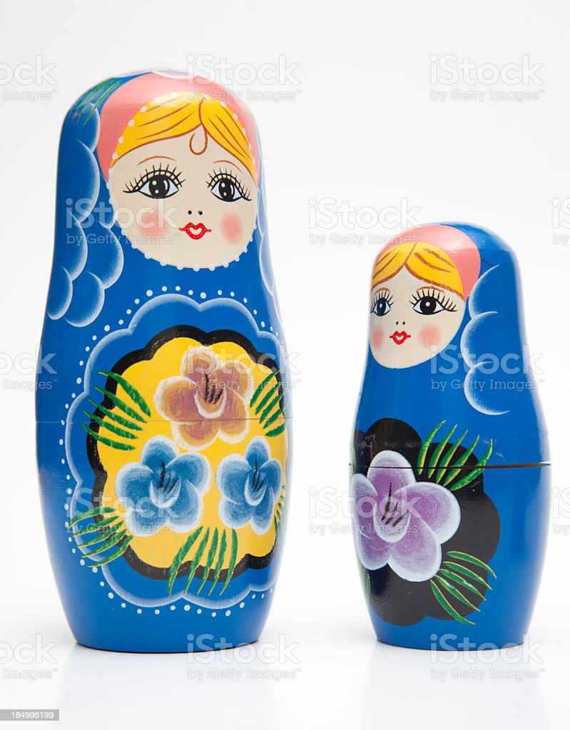 Matrioska dolls stock photo