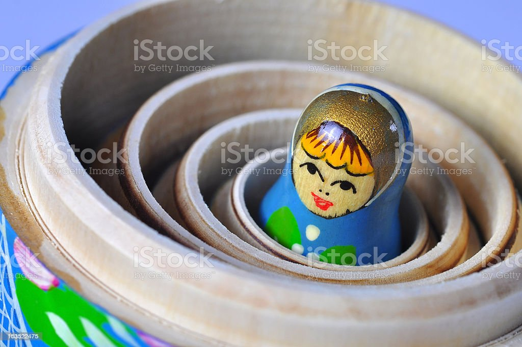 Matrioska Russian Doll royalty-free stock photo