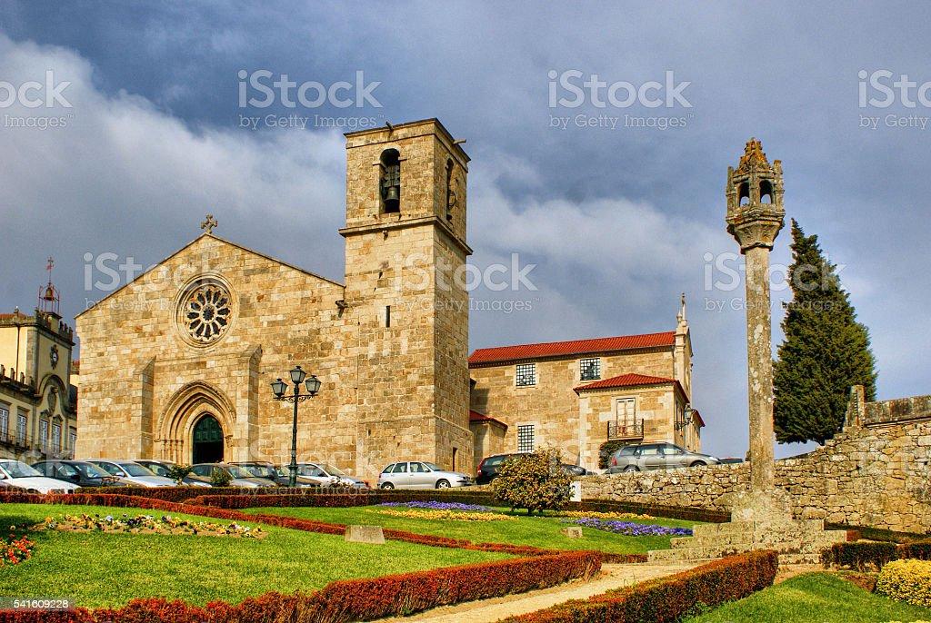 Matriz church of Barcelos stock photo
