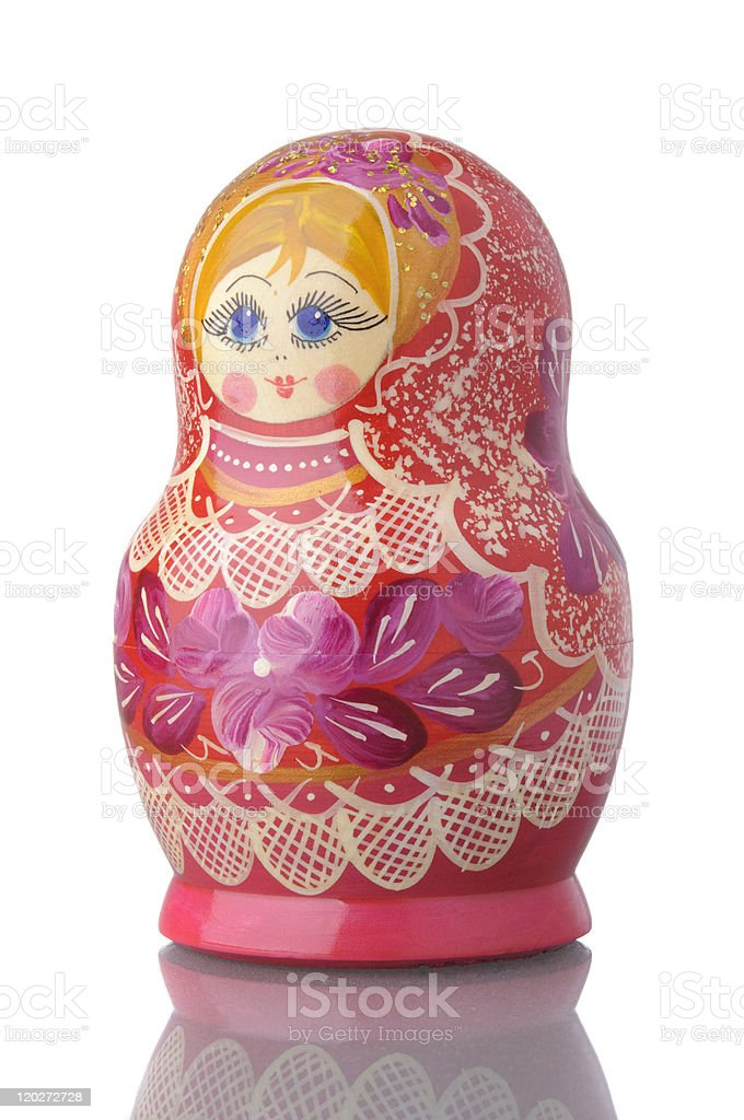 Matryoshka - A Russian Nested Doll royalty-free stock photo
