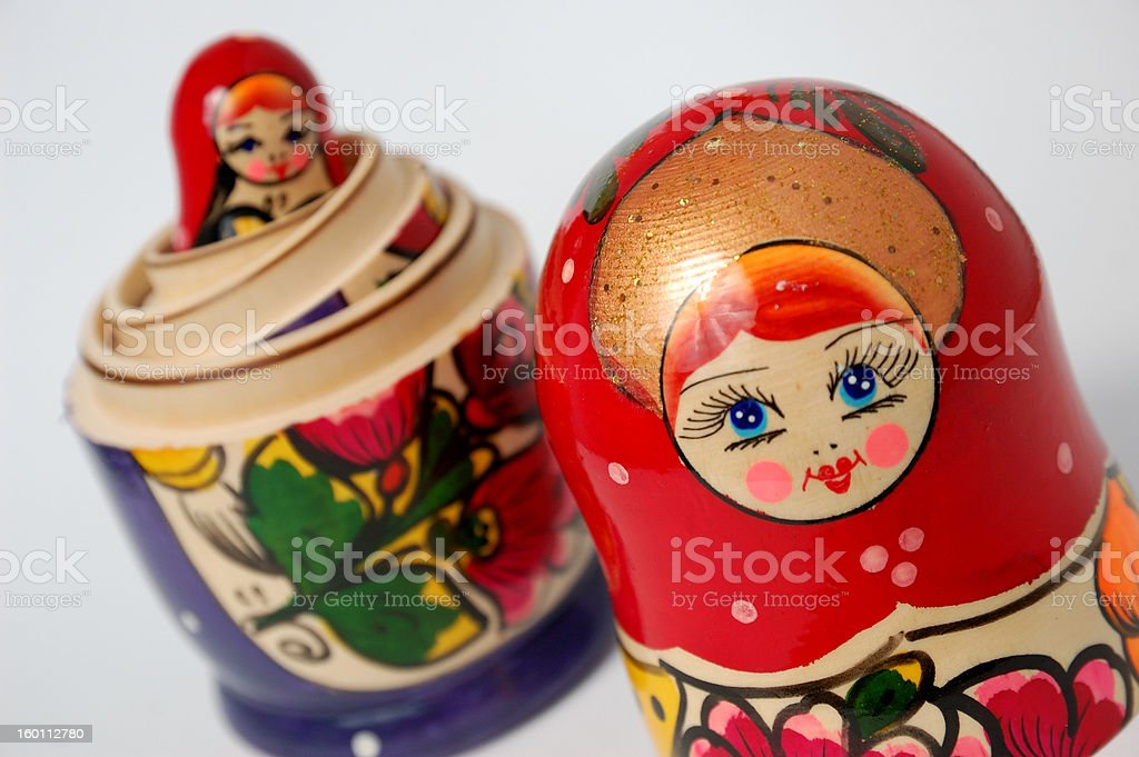 Matryoshka royalty-free stock photo