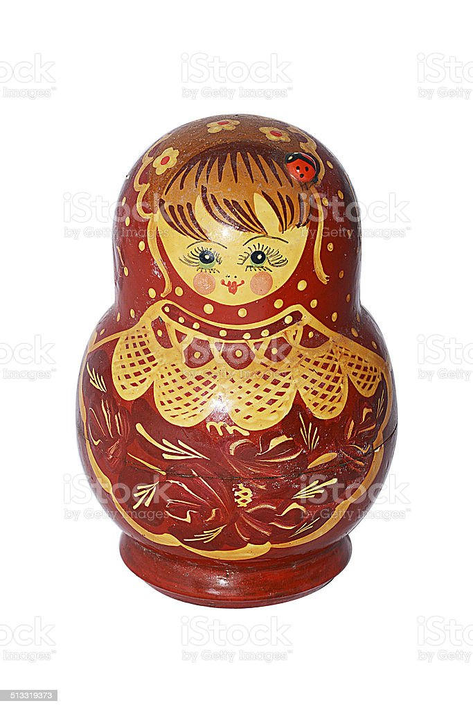 matryoshka stock photo