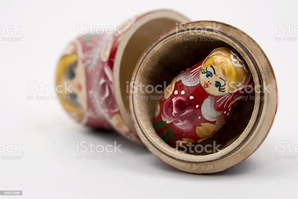 Matryoshka - Russian Doll royalty-free stock photo