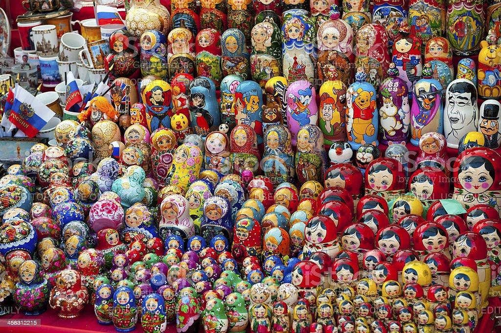 Matryoshkas royalty-free stock photo