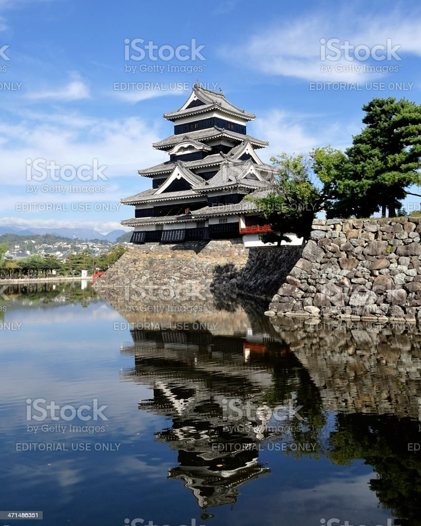 Matsumoto Castle stock photo