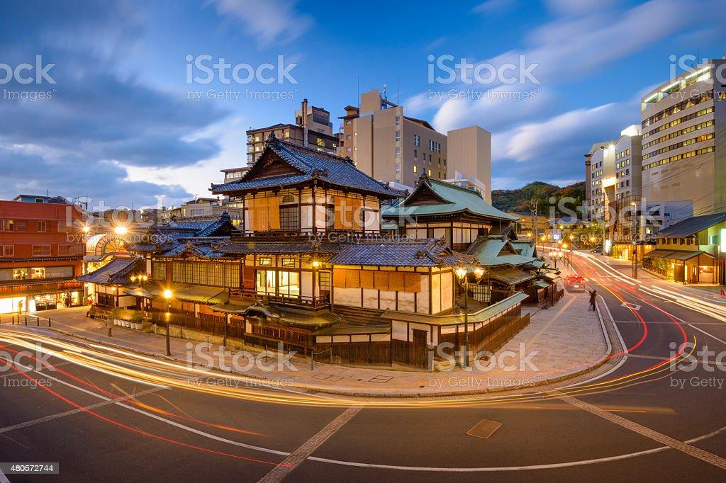 Matsuyama Japan Cityscape stock photo