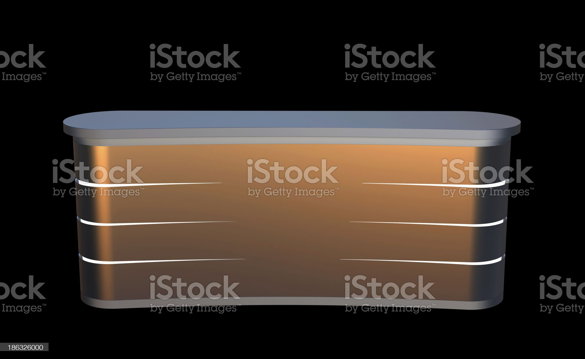 matted metal counter royalty-free stock photo