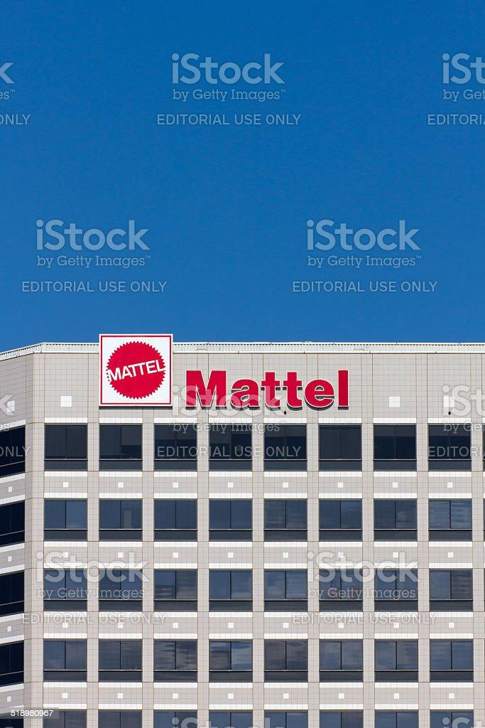 Mattel Corporate Headquarters Building stock photo