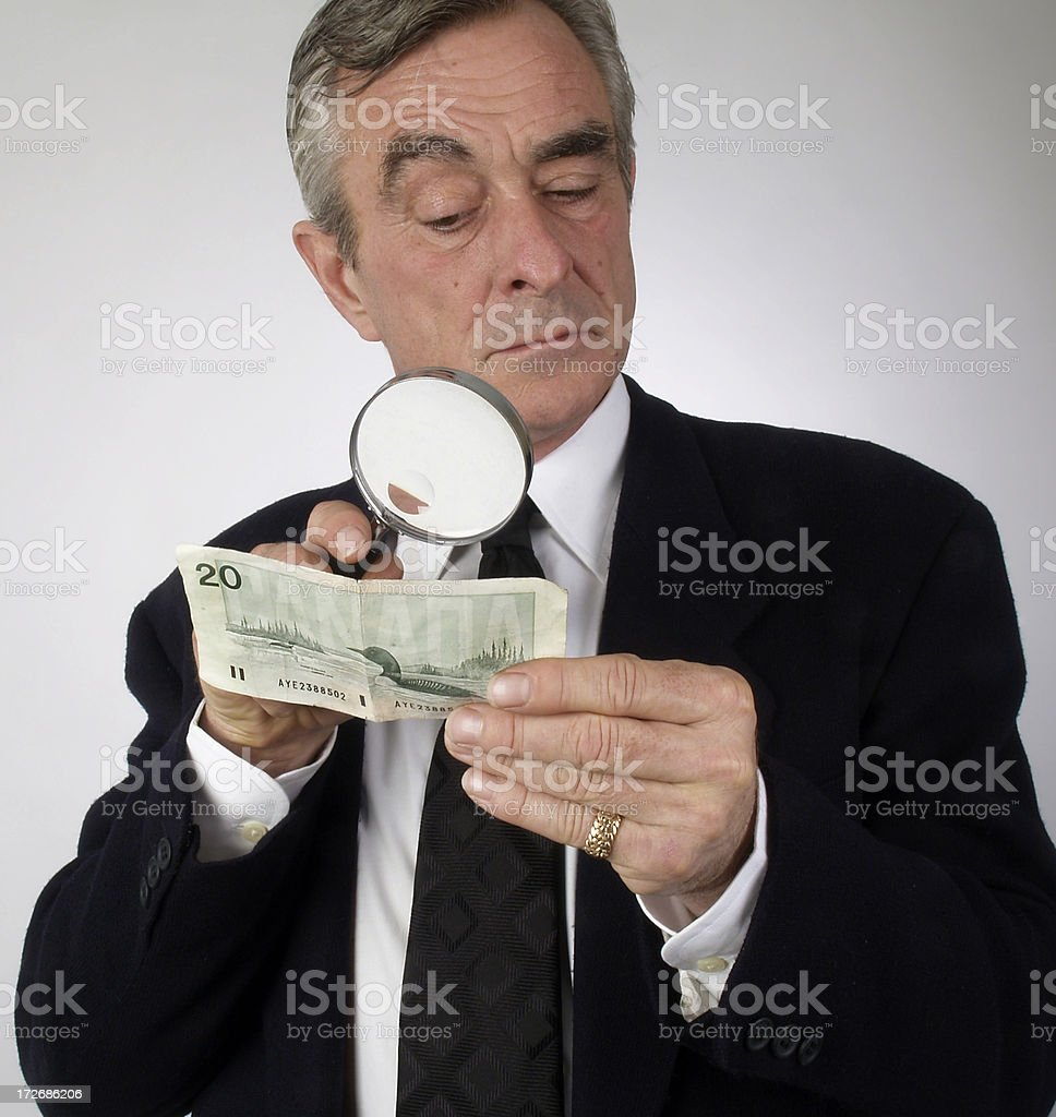 Matter Of Trust royalty-free stock photo