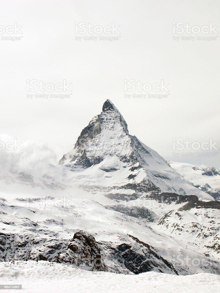 Matterhorn 2, Gornergrat, Switzerland stock photo